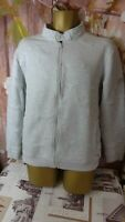 NOIZE AMSTRDM GREY HIGH QUALITY hiking MENS ZIP JUMPER stretch fleece SIZE XL di