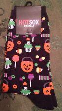 HOT SOX Halloween Socks Originals Trouser Sock  Jack-O'-Lantern Candy HO000350