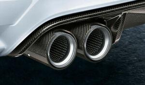 Genuine BMW M2 M3 M4 M Performance Carbon Exhaust Tip - SINGLE - 18302358110