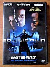 Equilibrium  DVD Christian Bale