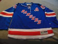 NEW! DAN GIRARDI - SIGNED- N Y Rangers Blue Jersey w/ Alternate Captain A W/COA