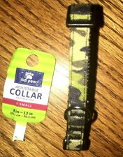 TOP PAW COMFORT DOG ADJUSTABLE COLLAR X-SMALL COLOR CAMO D-RING FOR CLASP