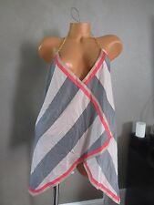 VICTORIA`S SECRET!! BEACH COVER UP SWIM STRAPED PRINT !!! SIZE:XL