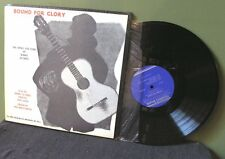 """Woody Guthrie """"Bound For Glory"""" LP EX+ FA 2481 Pete Seeger Bob Dylan Wilco"""