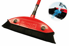 Vileda Multi Besen Entfernung Haaren Teppichbesen Gummi Haarfeger Friseurbesen