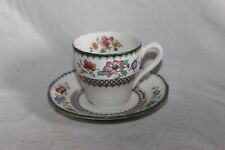 Copeland Spode Chinois Rose Coffee Cup and Saucer No 629599 26