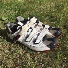 Bontrager RXL Carbon FibreMTB Mountain bike CX Cycling Shoes size 45 UK11 White