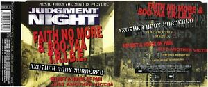 MAXI CD Faith no more - Soundtrack Judgment nightAnother boby murdered 4 Tracks