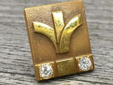 Pin Brooch Tested Diamonds New listing