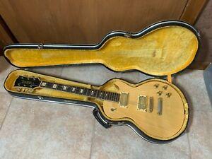 Univox Les Paul Shape Lawsuit 70's Japan Electric Guitar Yellow Case
