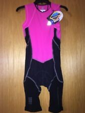Cep Womens Compression Triathlon Skinsuit Pink Size Ii