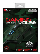TRUST ELITE GAMING MOUSE GXT155C, BUILT-IN CUSTOMISABLE WEIGHTS & ONBOARD MEMORY