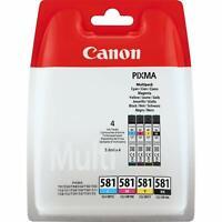 Canon CLI-581 Multipack –cartuccia d'inchiostro Nero/Ciano/Magenta/Giallo –5,6ml