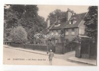 Hampstead Old Houses North End LL 696 London 1909 Postcard 079c