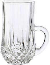 CRISTAL D'ARQUES LONGCHAMP 6 (SMALL 10cm) TEA GLASSES 14cl - BNIB