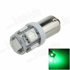 1X Green BA9S 57 W6W 5 5050 SMD LED License Plate Light Map Bulb Dome Lamp K001