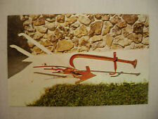 VINTAGE PHOTO POSTCARD SOD PLOW NEWTON IOWA UNUSED