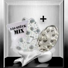 Acryl Farbkappenhalter +150 Farbkappen Set auch für Permanent Make Up Farbe★TOP★
