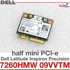 Wi-fi wlan wireless Card carte réseau pour Dell mini pci-e 7260hmw 09 vvtm d14