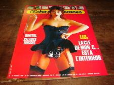 LIO - PUBLICITE 'ECHO DES SAVANES !!!!!!! 1986 !!!!!