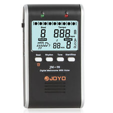 JOYO JM-90 LED Digital Rechargeable Metronome with Voice for Musical Instrument