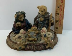 Boyds Bears Nativity Puzzle Set - 5 Puzzle Piece - 1 Stage