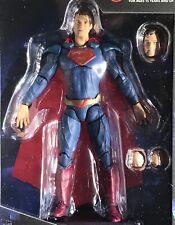 SUPERMAN Clark Kent 4 Inch Action Figure DC COMICS INJUSTICE 2 Hiya 1:18 Scale
