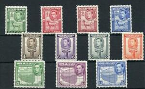 Somaliland 1938 short set to 3r SG93/103 MM