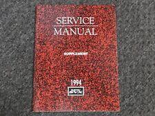 1994 subaru svx l lsi wiring diagram factory service repair manual  supplement