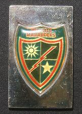 475th Infantry Regiment Sterling Ingot World'S Greatest Regiments L-250548