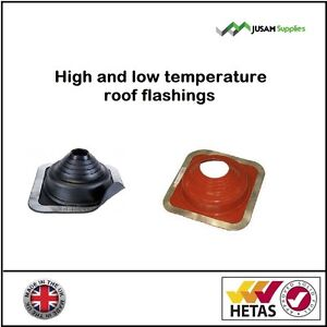 Flat Roof Rubber Flashing Plate seal for Flue pipes on flat felt corrugated