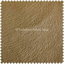 Brandy Brown Mushroom Colour Soft Velvet Upholstery Fabric Embossed Pattern