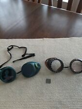 Vintage Safety Welding Glasses Qxweld & Willson Steam Punk Rat Rod