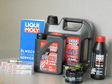 Wartungs Set Motorrad BMW K 1600 GT GTL Service Inspektion Zündkerze Öl Ölfilter