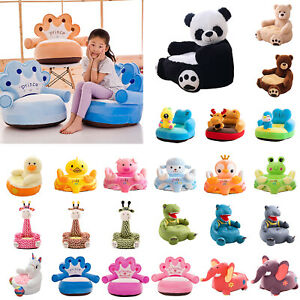 Kids Cartoon Animal Sofa Cover Baby Couch Armchair Furniture Slipcover No Filler