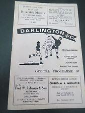 Darlington V Exeter    1968/9