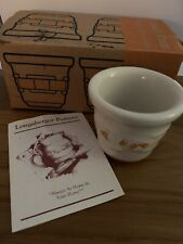 Longaberger Votive - Candy Corn New wi/original box Hard To Find