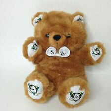 Anaheim Mighty Ducks Reversible Hockey Puck Stuffed Bear NHL Licensed Pillow Pal