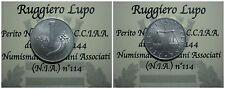 Repubblica Italiana 1 Lira Cornucopia 1954 SPL