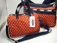 NWT *3 Piece Set* LeSportSac D870 Signature Deluxe Everyday Bag + Small Melanie