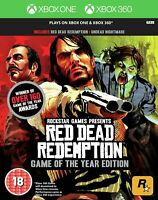 Red Dead Redemption Game of the Year For Xbox 360 & Xbox One (New & Sealed)