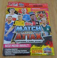 Topps Match Attax 18/19 Starterpack Sammelmappe + limitierte Auflage 2018/2019