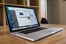 """FAST 15"""" RETINA Apple MacBook Pro QUAD Core i7 2.6GHz 512GB SSD 16GB DUAL GFX"""
