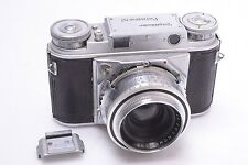 VOIGTLANDER EARLY* PROMINENT I W/ SKOPARON 35MM 3.5. WORKS 100%.