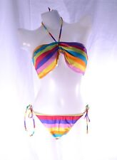 Ingear halter back tie top and bottom  swimsuit set size L