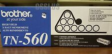 TN560 Genuine Brother HY Toner Cartridge NEW HL-1650 HL-1650N TN-560 HL-1670N