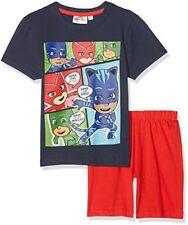 Pyjamas bleus 5 ans pour garçon de 2 à 16 ans en 100% coton