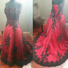 Red and Black Wedding Dresses for Sale