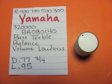 YAMAHA BA080140 TONE BAL LOUD KNOB R-900 R-700 R-500 R-300 STEREO RECEIVER