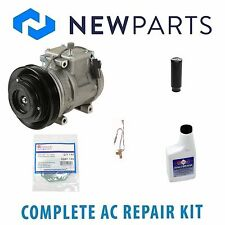 Acura Legend 1991-1992 3.2L Complete A/C Repair Kit With NEW Compressor & Clutch